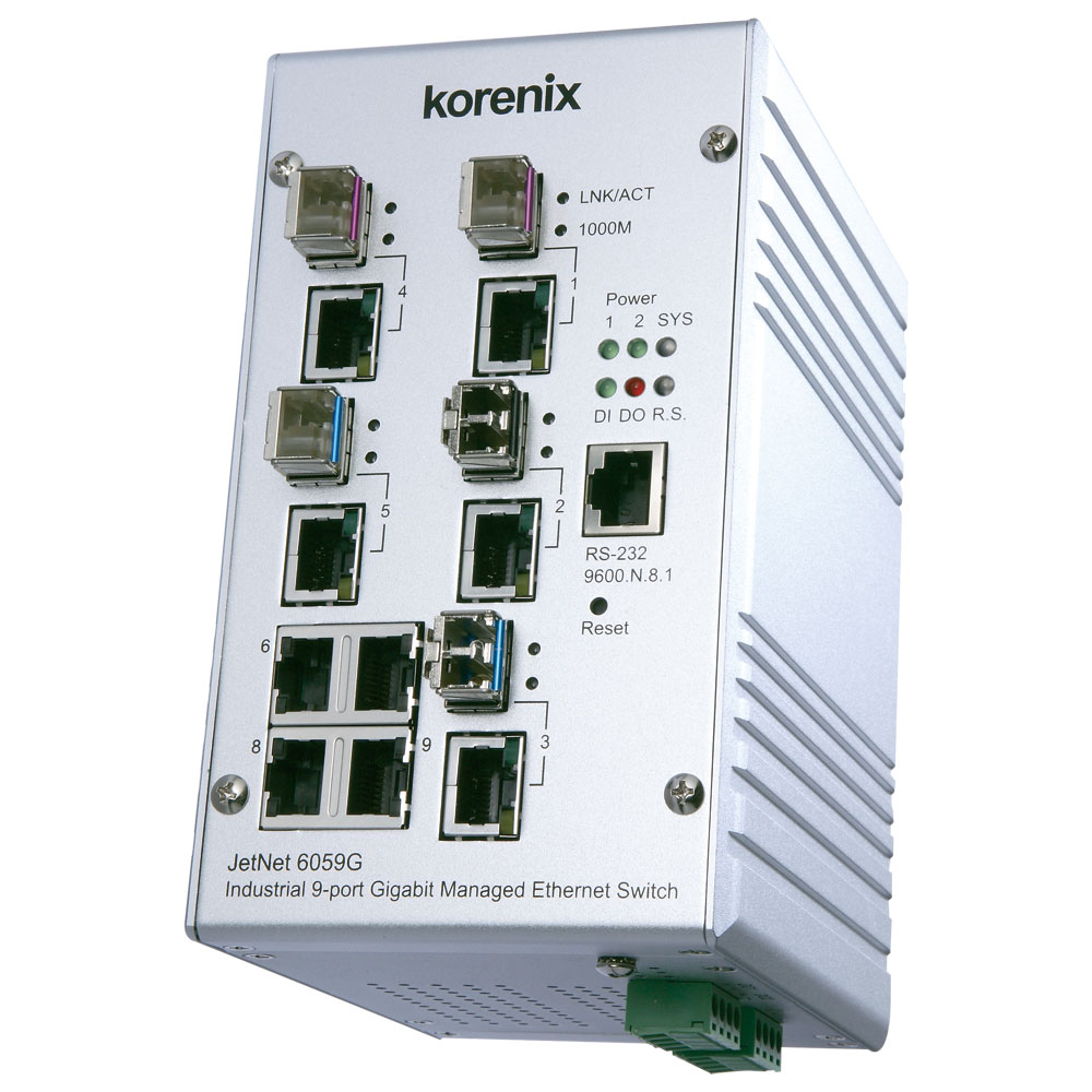 Industrial 9G Gigabit Managed Ethernet Switch