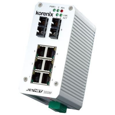 Industrial 8-port Fast Ethernet Fiber Switch